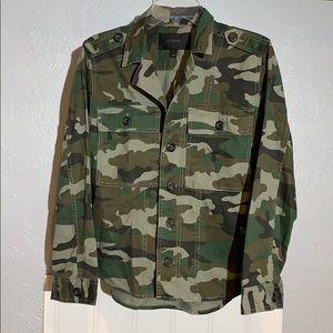 J. CREW NWT camo military jacket